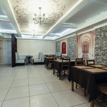 Кафе гостиницы Кремлевская в Муроме